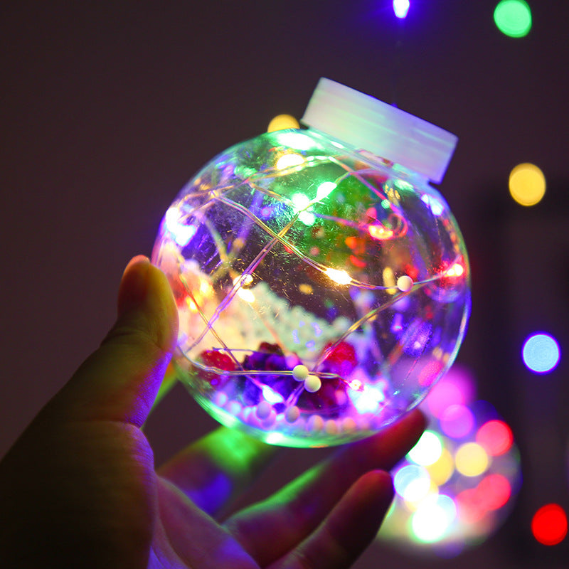 Christmas Decoration Curtain LED String Lights Fairy Tale