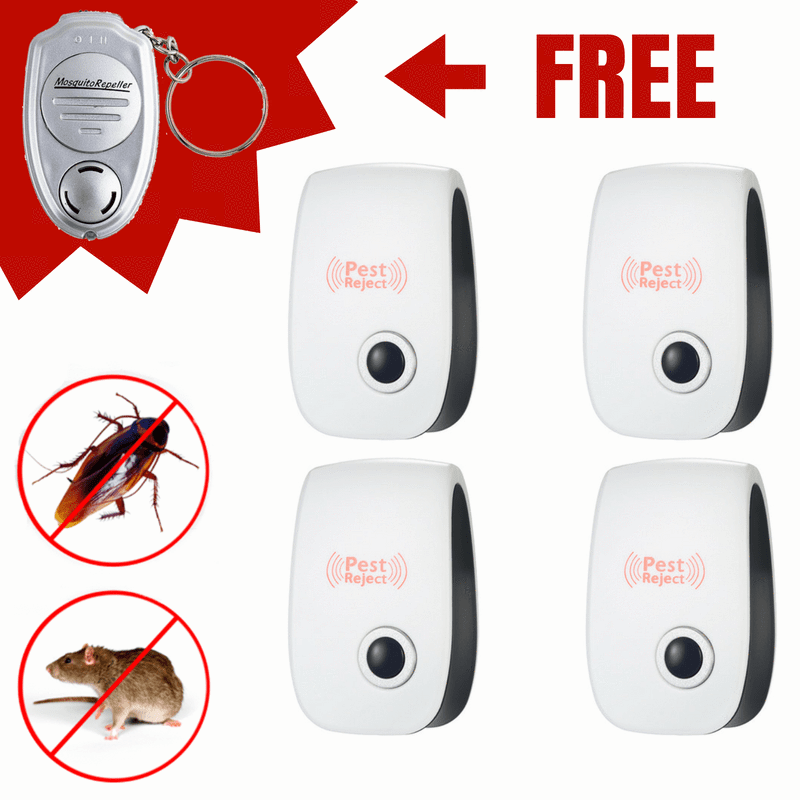 Electronic Ultrasonic Anti Mosquito Insect Pest Reject Mouse Repellent