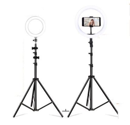Mobile Phone Live Selfie Anchor Round LED Fill Light