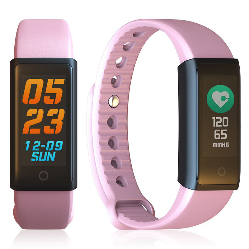 Fitness Tracker Smart Bracelet Wristband Color Screen For iPhone And Samsung