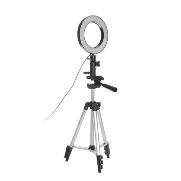 LED Ring Light Tripod Photo Camera Light Photography Dimmable Video Light Tripod for Youtube Makeup Selfie Phone Tripod