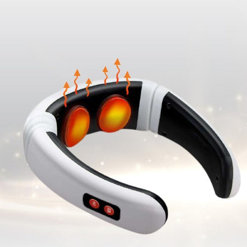 Electric Neck Massager & Pulse Infrared Heating Pain Relief Tool - TurboTech215.com