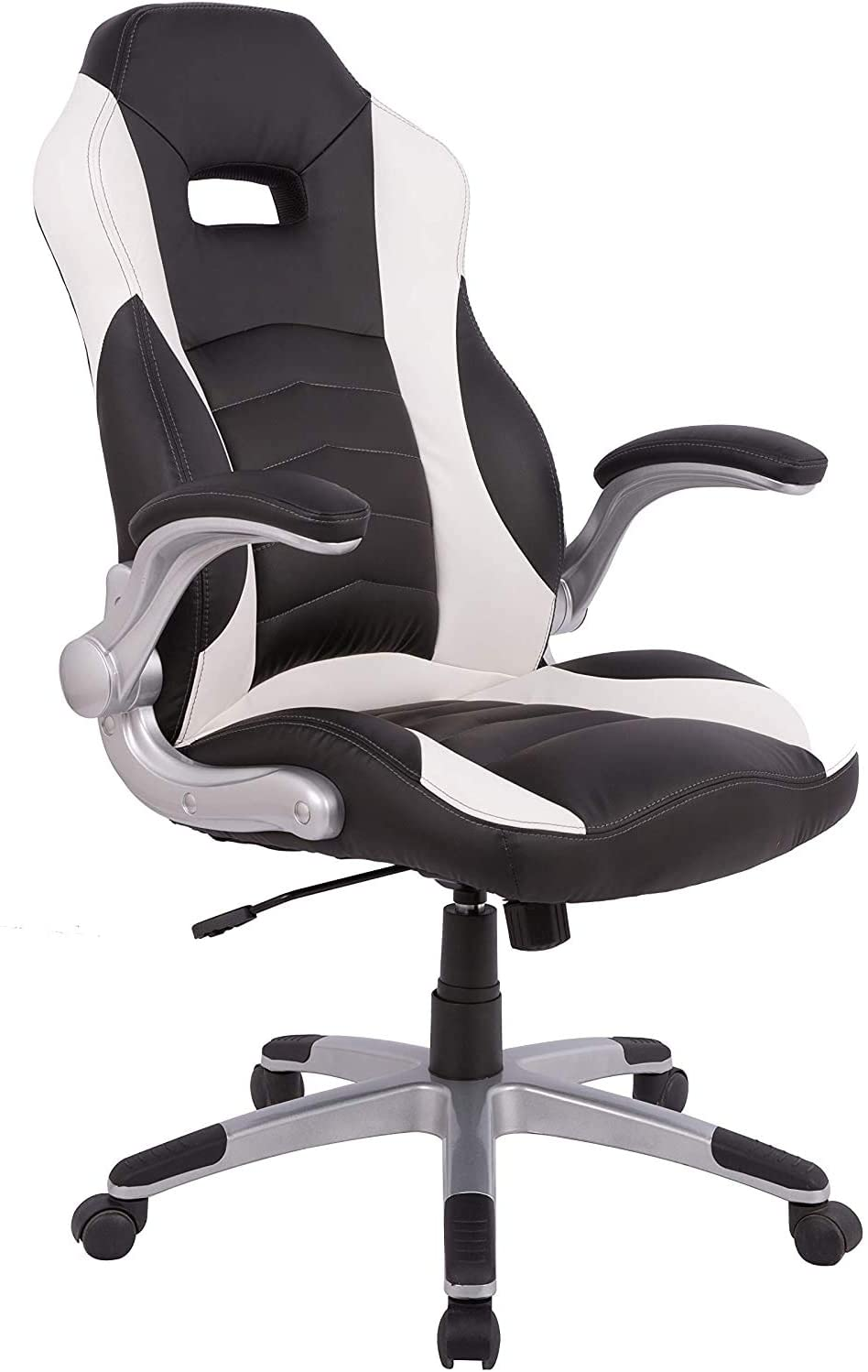 Gaming Chair Ergonomic with High Back Adjustable Height and Armrest for Office Computer Desk Chair