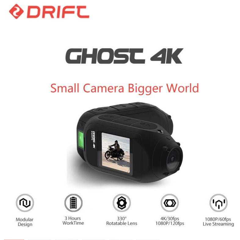4K WiFi Sports Action Camera for with Dual Microphone and Wifi - TurboTech215.com