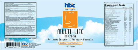 Image of Multi-Life Vitamins w/ Digestive Enzymes