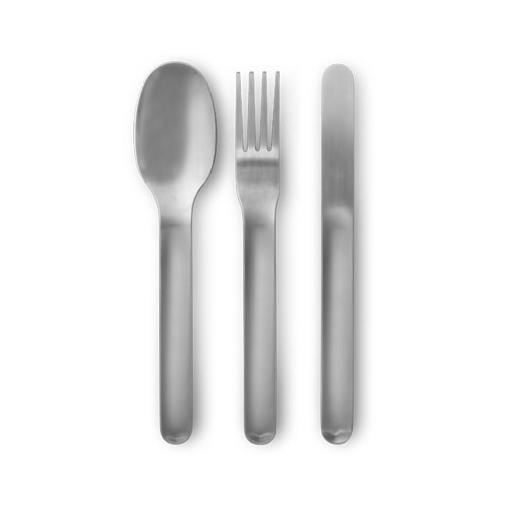 Black + Blum Cutlery Set Steel
