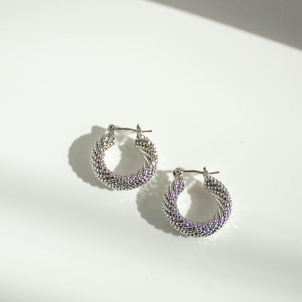 Lia Hoop Earrings