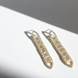 Alyssa Crystal Earrings