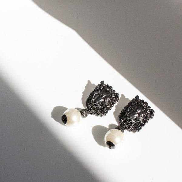 Lorraine Pearl Drop Earrings