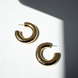 Magena Hoop Earrings
