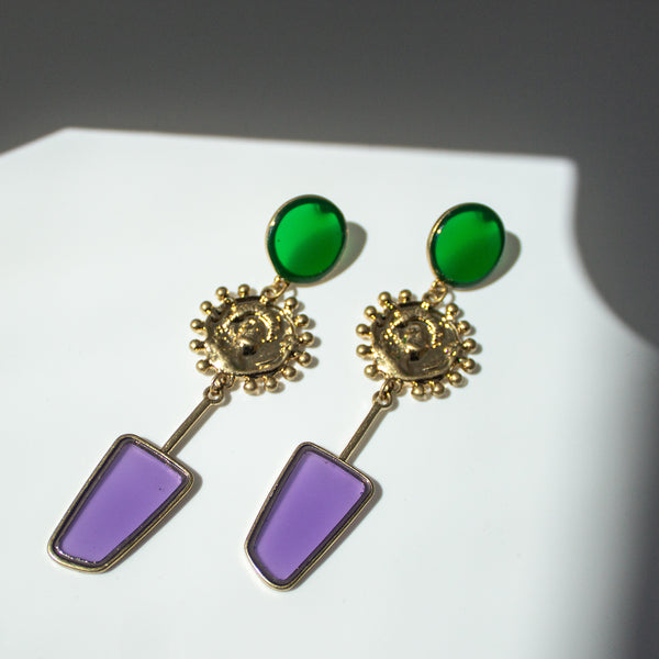 Esmeralda Emerald Earrings