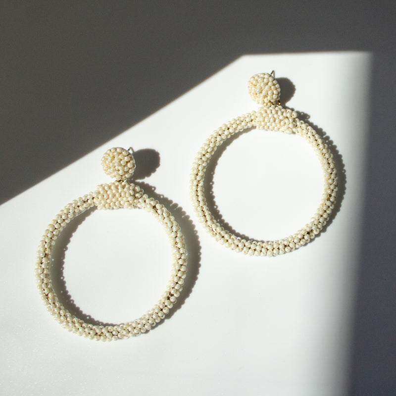 Catia Ivory Earrings