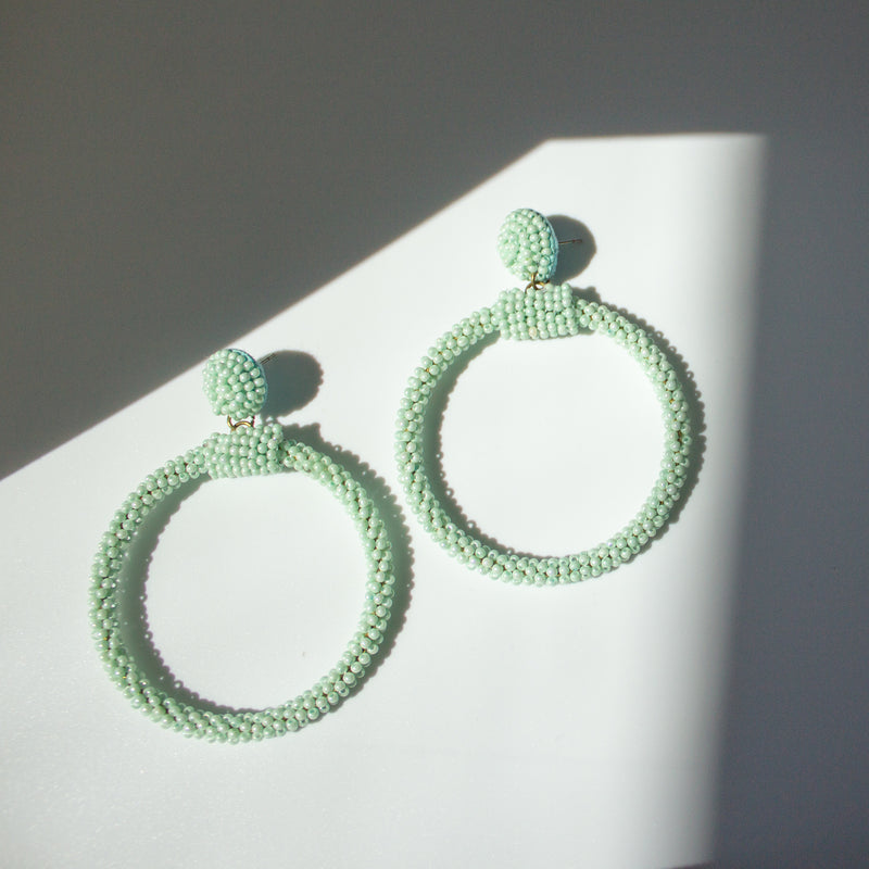 Catia Spearmint Hoops