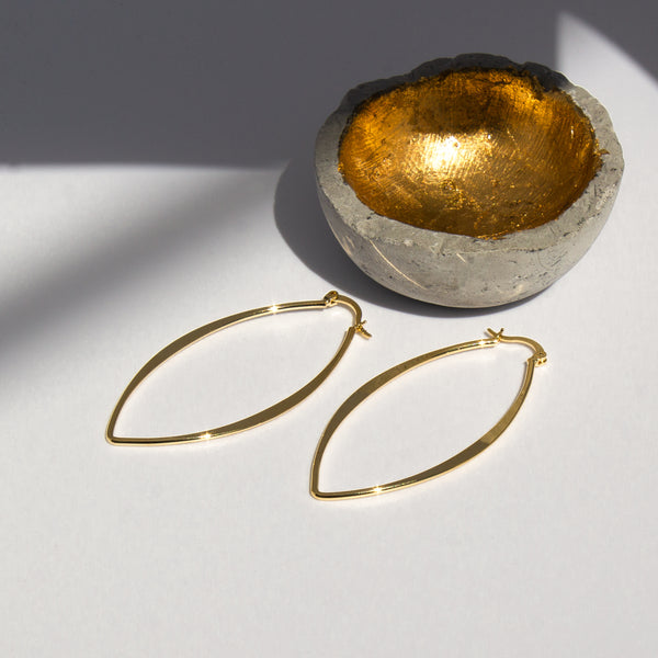 Angelik Hoop Earrings