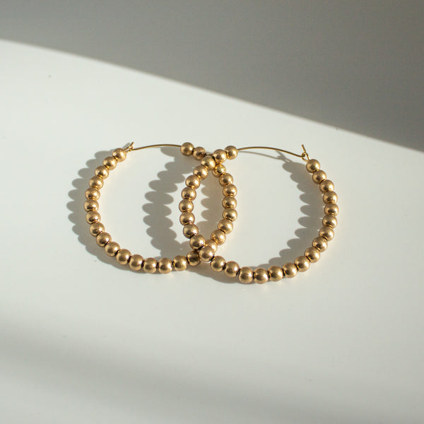 Huva Hoop Earrings