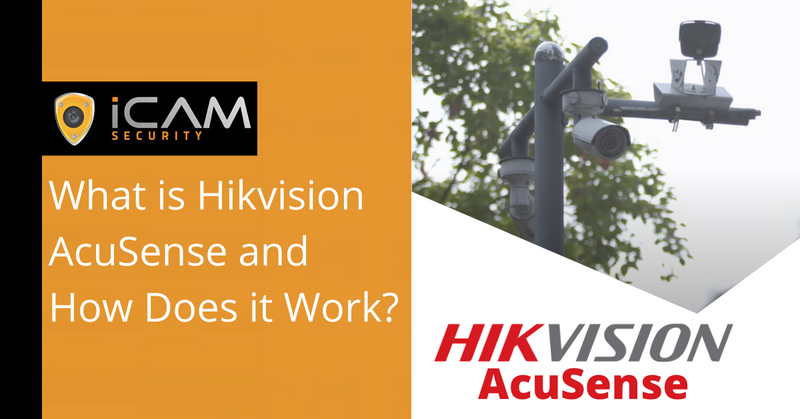 What is Hikvision AcuSense and how does it work?