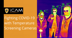 Title image for Fighting COVID-19 with Temperature Screening Cameras article