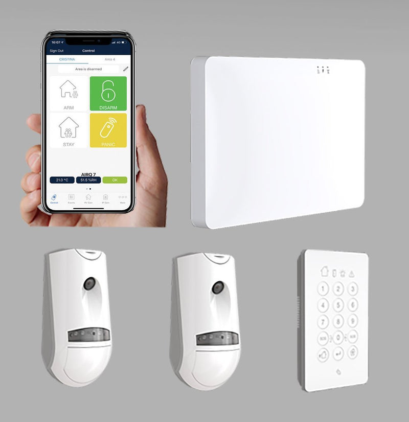 Crow Smart Home Wireless Alarm System Kit