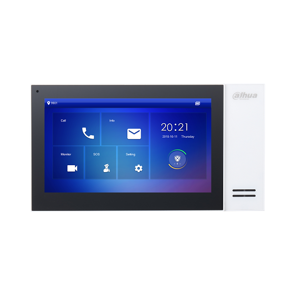 Dahua DHI-VTH2421FW-P 7inch Touch Screen Indoor Monitor