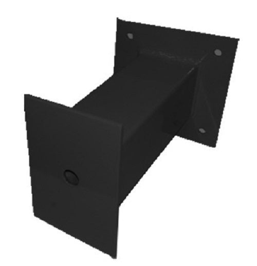 Bollards BOLLARD03B Horizontal Wall Mount Bollards