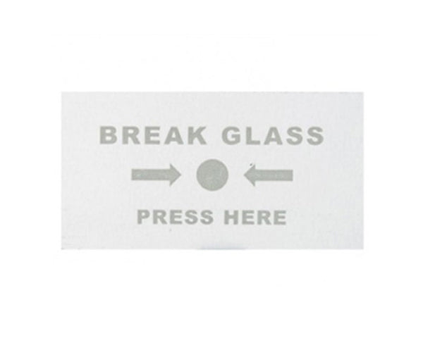 1101 Call Point Replacement Glass - Pack of 5