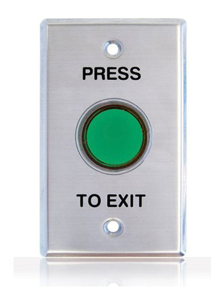 1105 Shrouded Exit Button