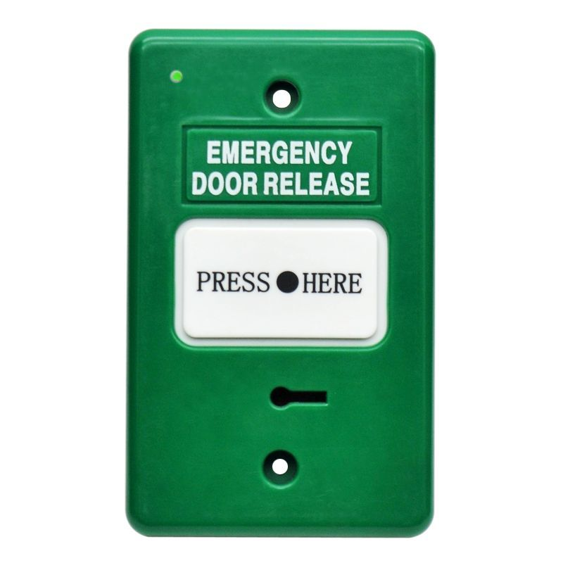 Secor DWS250B-GN Emergency Door Release with LED Indicator and Buzzer