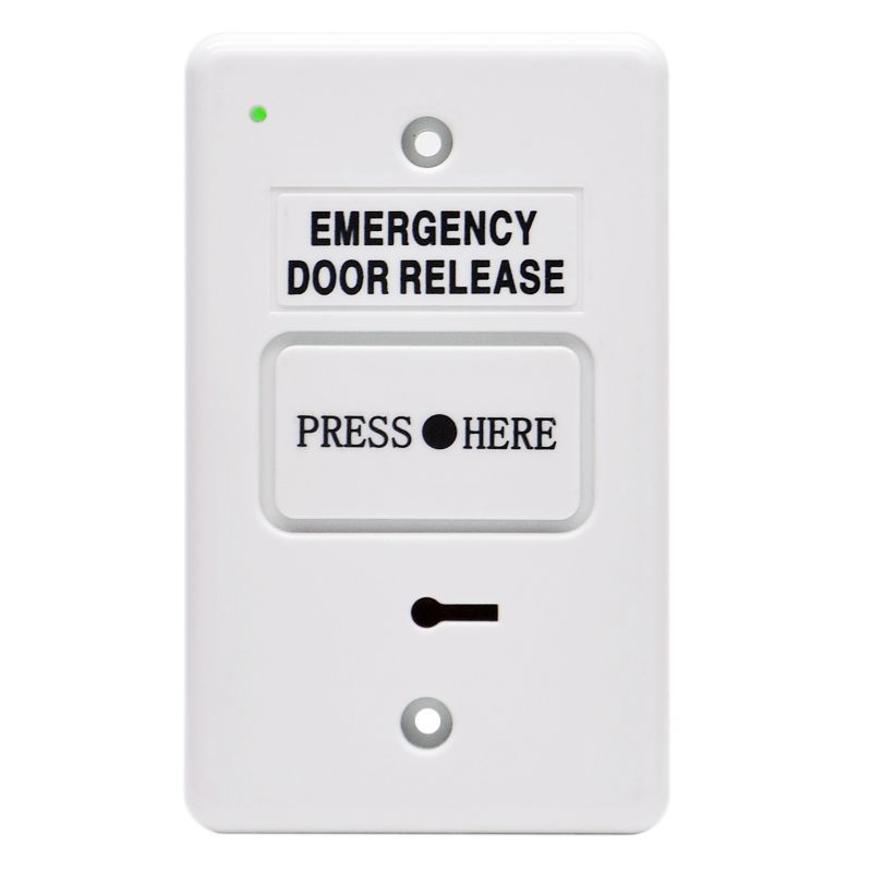 Secor DWS250B Emergency Door Release with LED Indicator and Buzzer