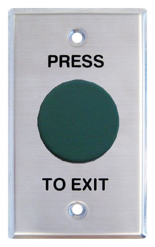 Secor WEL2440 Mushroom Exit Button