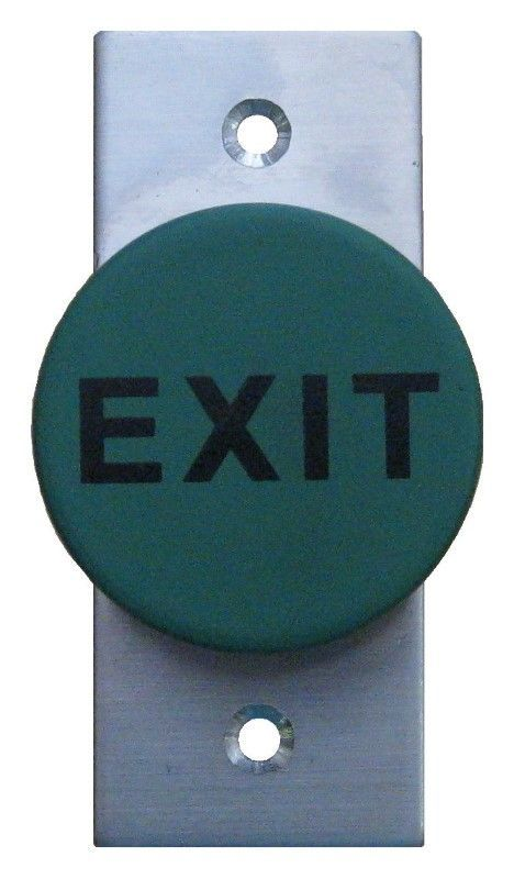 WES2440 Heavy Duty Mushroom Exit Button