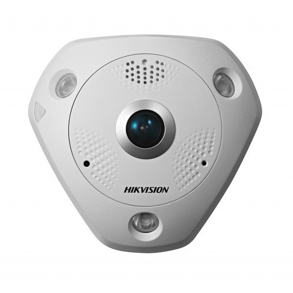 DISCONTINUED Hikvision DS-2CD6332FWD-IV 3MP Fixed Fisheye Network Camera