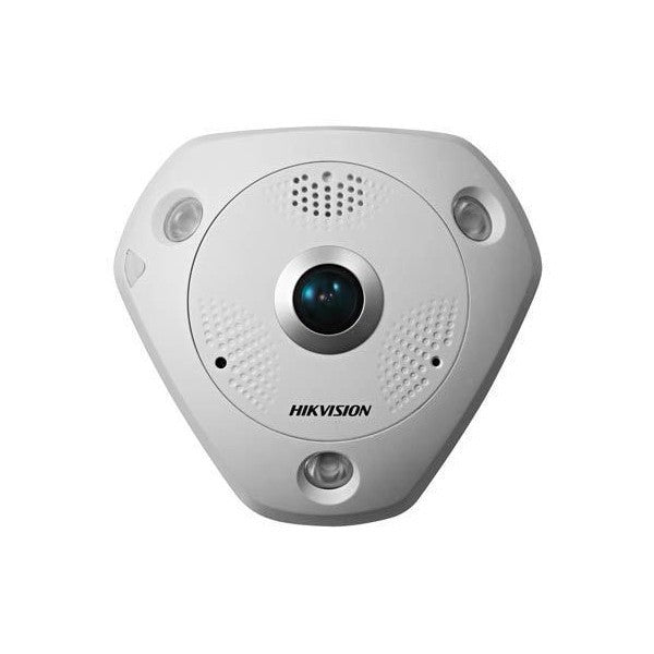 DISCONTINUED Hikvision DS-2CD6362F-IV 6MP Fixed Fisheye Network Camera