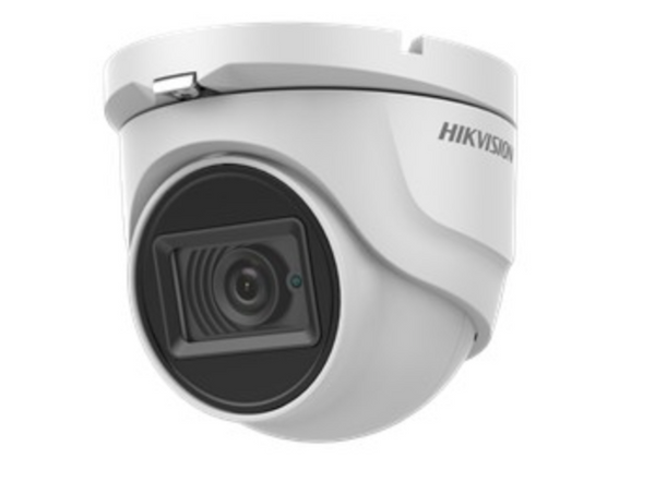 Hikvision DS-2CE76H8T-ITMF 5MP Fixed Turret Analogue Camera