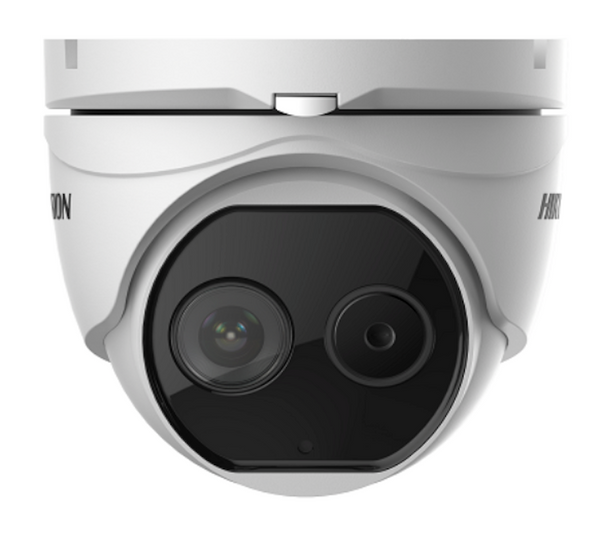 Hikvision DS-2TD1217-6V1 CCTV 2MP Thermal & Optic Turret Camera