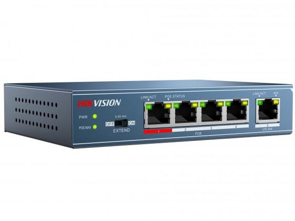 Hikvision DS-3E0105P-E PoE Network Switch