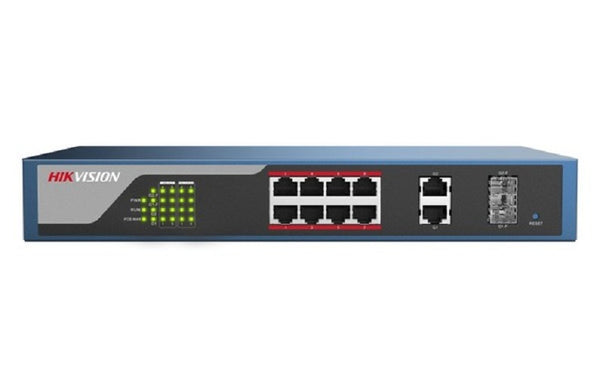 Hikvision DS-3E1310P-E PoE Network Switch