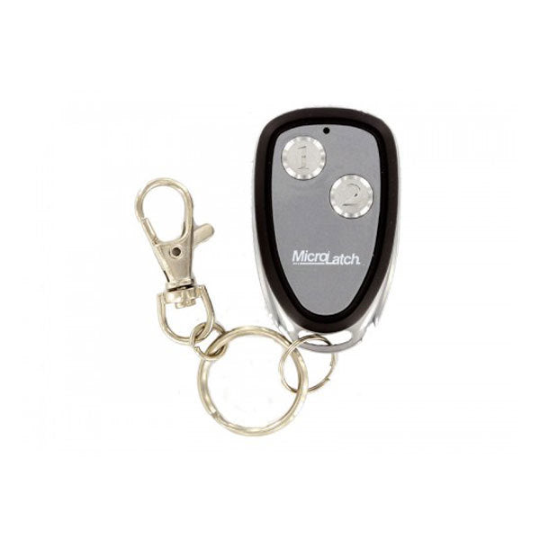 Microlatch 2 Button Metal Keyfob 1 Weigand I-D & HID Tag (plus programming form)