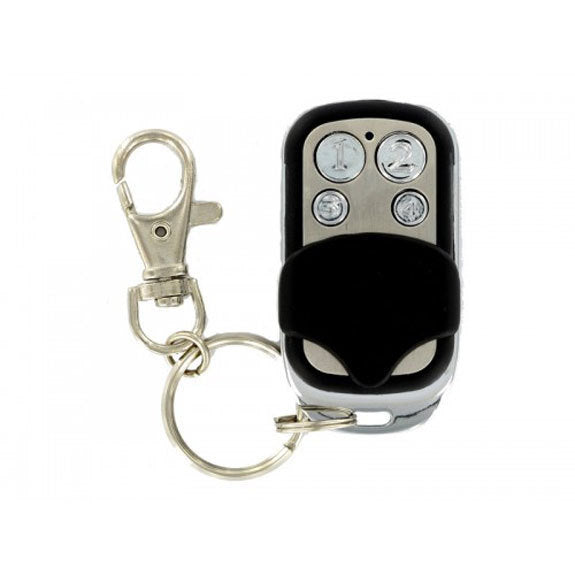 Microlatch 4 Button Metal Keyfob EM Tag Sliding Cover (plus programming form)