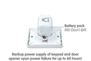 Mobotix MX-Door1-BAT Spare Battery Pack