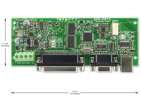 Paradox PRT3 Integration Module