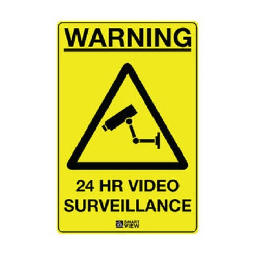 SIGN6786 CCTV Warning Sign