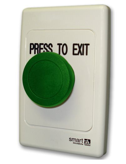 SMART4342G Green Mushroom Exit button