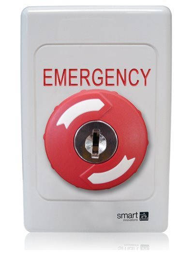 Red Key-to-Release Button SMART4376