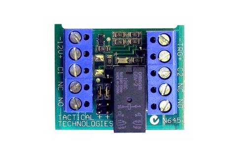 Tactical TP-RLB1-DPDT Relay Board