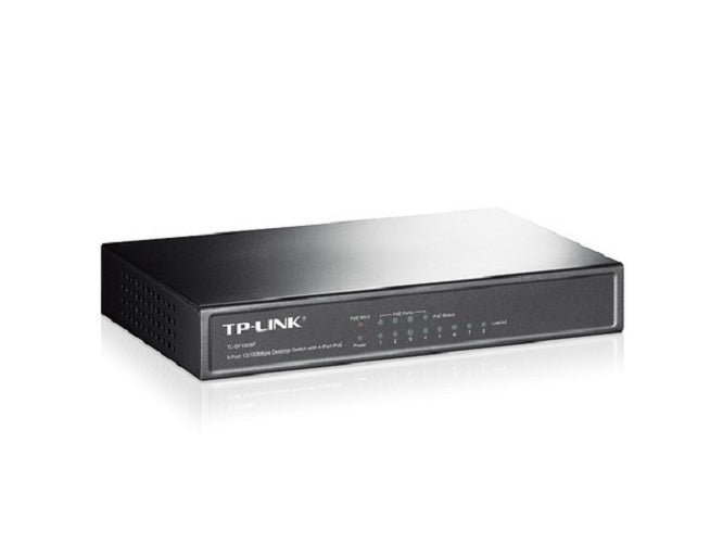 TP-Link TPL-SF1008P Switch (4 X PoE)
