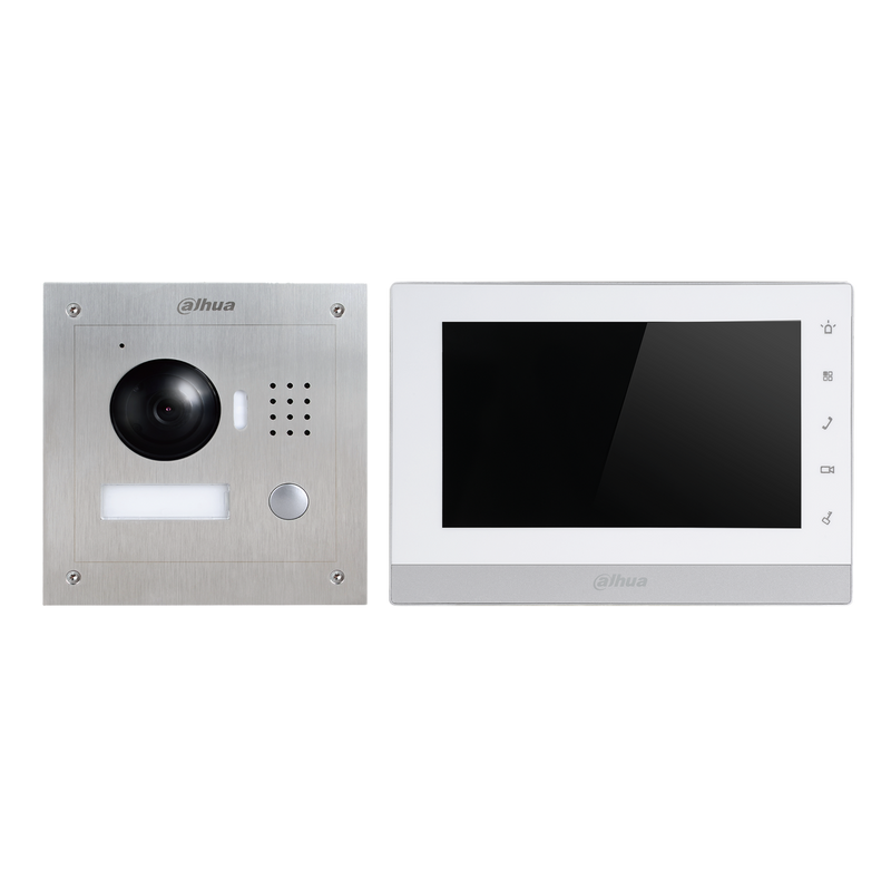DISCONTINUED Dahua VTK-VTO2000A-VTH1550CH-F IP Intercom Kit
