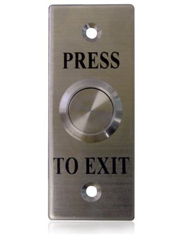 Small Press-to-Exit Flush Button WES1910