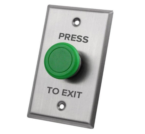 X2 Security X2-EXIT-025 Mushroom Exit Button