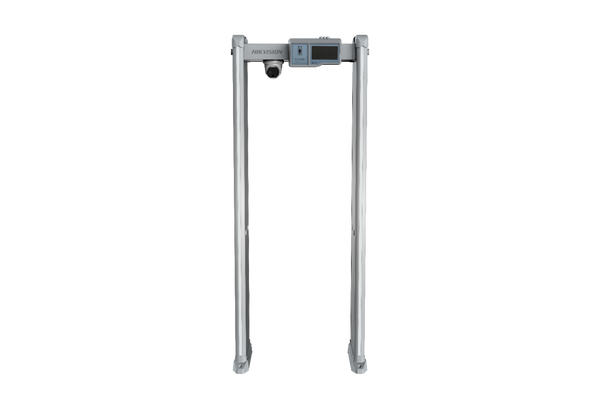 Hikvision Face Detection and Temperature Screening Metal Detector