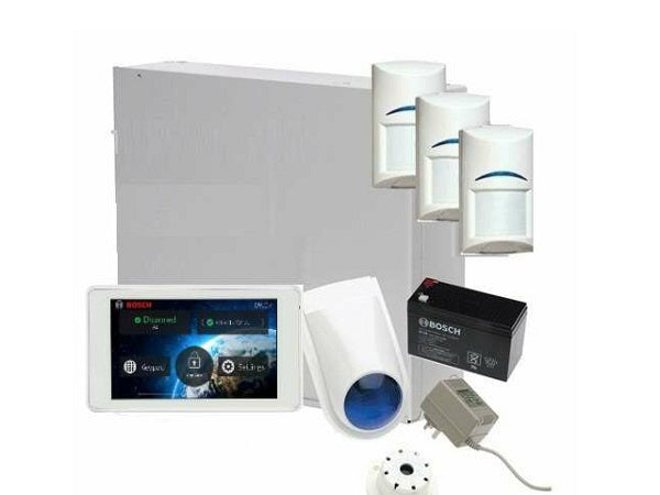Bosch K3000-3QUADTS5 Solution 3000 Control Panel + IUI-SOL-TS5 + ISC-BPQ2-W12 Kit